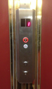 picture of hallway button ADA upgrade